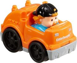 Mattel Little People Wheelies - Orange Truck