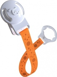 Twistshake Pacifier Clip Orange