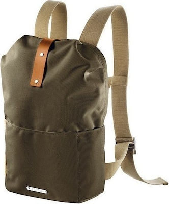 Brooks England Dalston Knapsack Small Green Fleck / Honey
