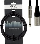 Alpha Audio Cable XLR male - 6.3mm male 6m (190.717)