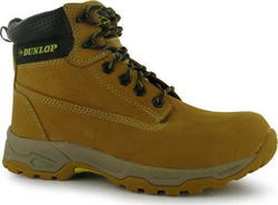 Dunlop Safety Boots Brown