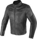 Dainese Stripes D1 Leather Black