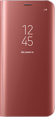 Samsung Clear View Standing Cover Pink (Galaxy S8)
