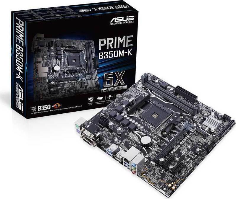Asus Prime B350M-K - Skroutz gr
