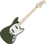 Fender Mustang MN Maple Fingerboard Olive