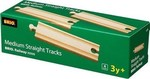Brio Toys Medium Straight Tracks
