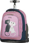 Polo Trolley Bike Pink Cats 9-01-218-16
