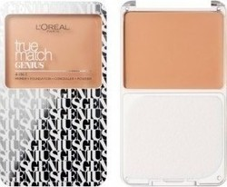 L'Oreal True Match Genius 4 In 1 Compact Foundation Sand