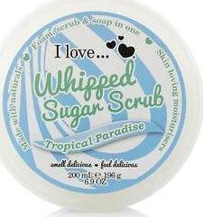 I Love Cosmetics Whipped Sugar Scrub Tropical Pradise 200ml