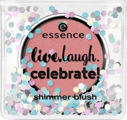 Essence Live.laugh.celebrate Shimmer Blush 01 Rhythm Of The Night