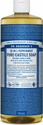 Dr. Bronner's Pure Castile Soap Peppermint 945ml