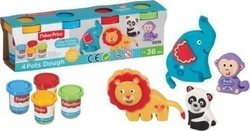 Fisher Price Σετ 4 Βαζακια Μικρά