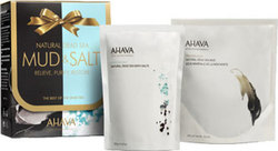 Ahava Natural Deadsea Salt 250gr & Deadsea Mud 400gr