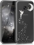 KW Back Cover Fairy Glitter Silver Transparent (Galaxy A3 2017)