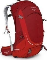 Osprey Stratos 34 Beet Red