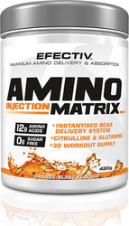 Efectiv Amino Injection Matrix 420gr Orange Blast