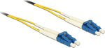 DeLock Optical Fiber LC-LC Cable 2m Κίτρινο (84606)