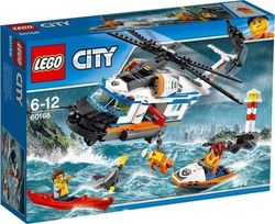 Lego City: Heavy-Duty Rescue Helicopter 60166