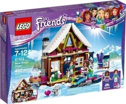 Lego Friends: Snow Resort Chalet 41323
