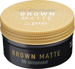 hh Simonsen Brown Matte Clay Wax 100ml