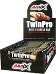 Amix Nutrition TwinPro Protein Bar 80gr Raspberry Cream
