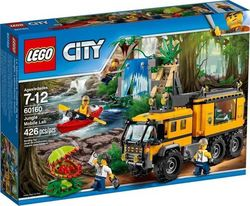 Lego City: Jungle Mobile Lab 60160