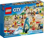 Lego City People Pack Fun At Beach 60153