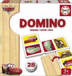 Educa Cars Domino Wood