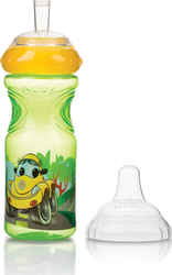 Nuby Ποτηράκι Printed Sport Sipper No Spill Yellow 300m