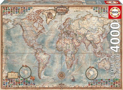 The World, Executive Map 2D 4000pcs