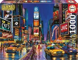 Times Square New York Neon 1000pcs (13047) Educa