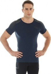 Brubeck Fitness T-shirt SS10900 Dark Blue