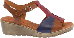 Kiarflex 17112 Bordeaux / Brown / Blue