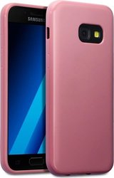 Terrapin Back Cover Σιλικόνης Hot Pink Matte (Galaxy A3 2017)