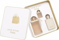 Chloe Love Story Eau De Parfum 75ml & Body Milk 100ml & Eau De Parfum 7,5ml