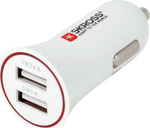 Skross Dual Usb Car Charger 2.900610-E