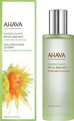 Ahava Deadsea Plants Dry Oil Body Mist Φραγκόσυκο & Μορίνγκα Eau Fraiche 100ml