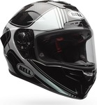 Bell Race Star Tracer Gloss Black/White