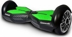 "Kawasaki Balance Scooter KX-PRO 8"" Black / Green"