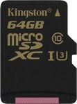 Kingston Gold microSDHC 64GB U3