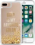Puro Back Cover Gold Is My Favourite Colour (iPhone 8/7 Plus)