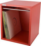 SEFOUR VINYL RECORD CARRY BOX VC030-921 REVERB RED
