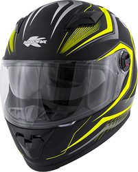 Kappa Moto KV27 Gloss Yellow / Matt Black
