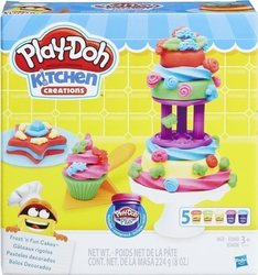 Hasbro Play Doh Kitchen Creations Frost 'n Fun Cakes Bakin Set