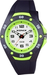 Xonix Kids Black Rubber Strap OV-007