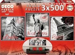 Big Cities Deco 500pcs (17096) Educa