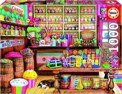 The candy shop 1000pcs (17104) Educa