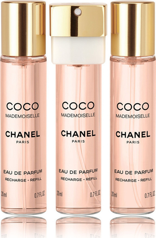 d55fe79721d Προσθήκη στα αγαπημένα menu Chanel Coco Mademoiselle Twist   Spray Refill  Eau de Parfum 3x20ml