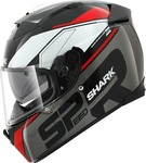 Shark Speed-R 2 Sauer II Black/Red/Anthracite