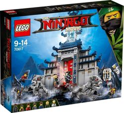 Lego NinjaGo: Ninjago Movie Temple of the Ultimate Ultimate 70617